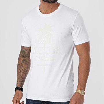 Luxury Lovers - Tee Shirt California Dreamin Blanc Beige