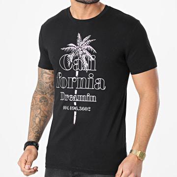 Luxury Lovers - Tee Shirt California Dreamin Noir Violet