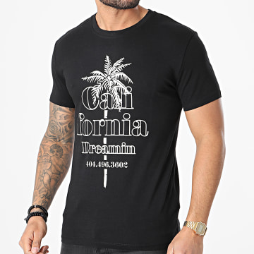 Luxury Lovers - Tee Shirt California Dreamin Noir Beige
