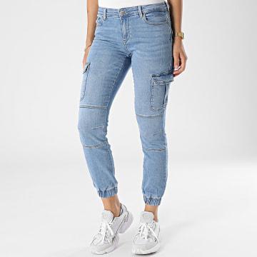 Only - Jogger Pant Jean Skinny Femme Missouri Life Bleu Denim