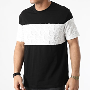 Sixth June - Tee Shirt M22188ETS Noir Blanc