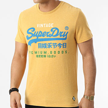 Superdry - Tee Shirt VL Tri M1011003A Moutarde