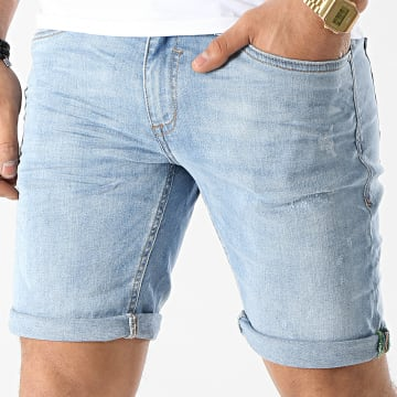 Blend - Short Jean 20711946 Bleu Denim