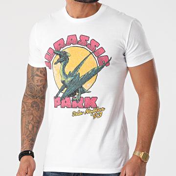 Jurassic Park - Tee Shirt Jurassic Park Isla Nublar '93 Blanc