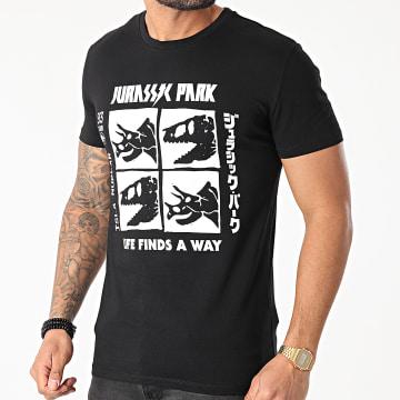 Jurassic Park - Tee Shirt Jurassic Park Photomaton Noir