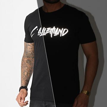 L'Allemand - Tee Shirt Typo Noir Réfléchissant