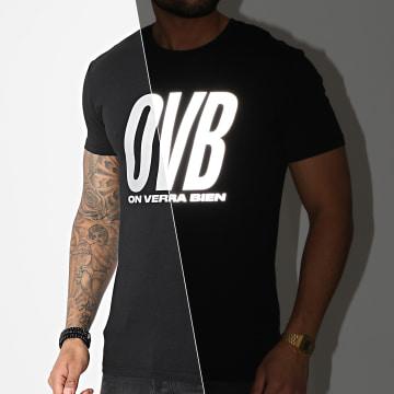 L'Allemand - Tee Shirt OVB Noir Réfléchissant