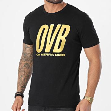 L'Allemand - Tee Shirt OVB Noir Or