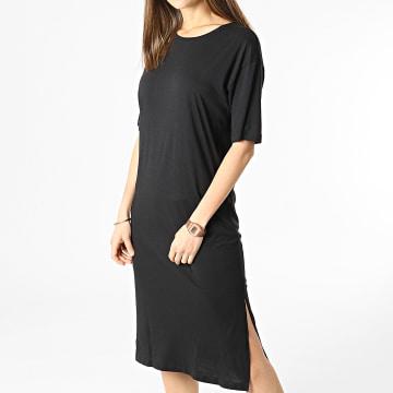 Noisy May - Robe Tee Shirt Femme Mayden Noir