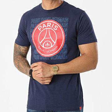 PSG - Tee Shirt Big Logo P13964C Bleu Marine