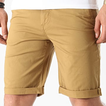 Solid - Short Chino 21104824 Camel