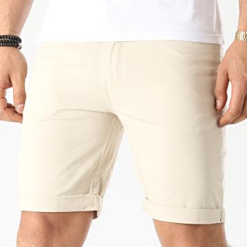 Solid - Short Jean 21104827 Beige