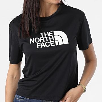 The North Face - Tee Shirt De Sport Femme Logo 5567 Noir