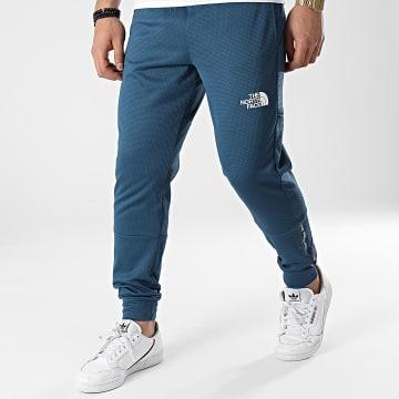 The North Face - Pantalon Jogging A5577BH7 Bleu Réfléchissant