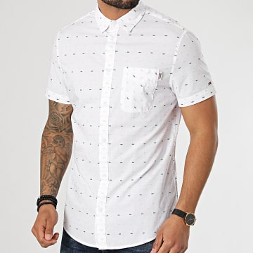 Tommy Jeans - Chemise Manches Courtes 0162 Blanc