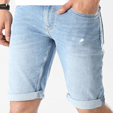 Tommy Jeans - Short Jean Ronnie Bleu Denim