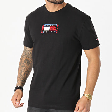 Tommy Jeans - Tee Shirt Timeless 0621 Noir