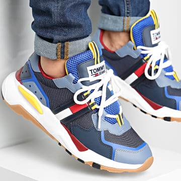 Tommy Jeans - Baskets Cool Runner 0484 Faded Ink