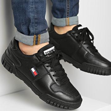 Tommy Jeans - Baskets Retro Tommy Jeans Sneaker 0487 Black