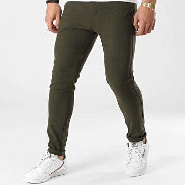 Uniplay - Pantalon Chino 12 Vert Kaki