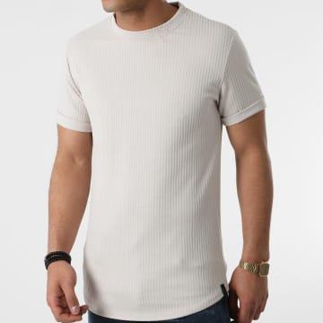 Uniplay - Tee Shirt Oversize T758 Beige