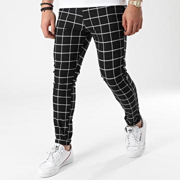 Uniplay - Pantalon A Carreaux 12 Noir