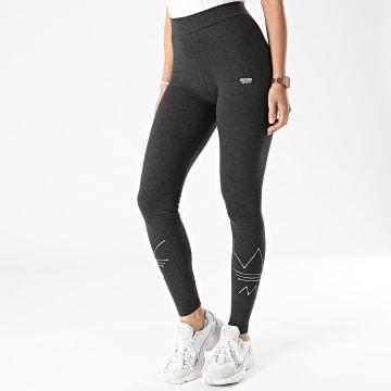 Adidas Originals - Legging Femme GN4321 Gris Anthracite Chiné