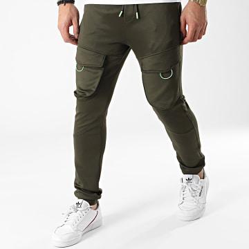 Armita - Pantalon Jogging JS-7176 Vert Kaki