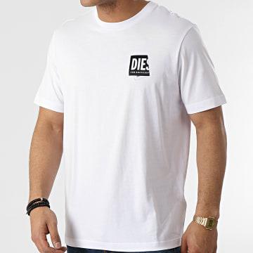 Diesel - Tee Shirt A02369-0HAYU Blanc