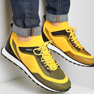 HUGO - Baskets Icelin Runner 50451737 Dark Yellow