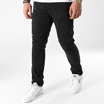 Redskins - Pantalon Chino Hello Tall Noir