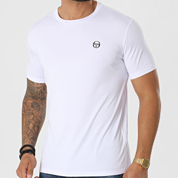 Sergio Tacchini - Tee Shirt Alviero 39070 Blanc