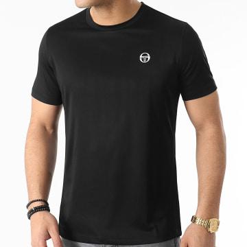 Sergio Tacchini - Tee Shirt Alviero 39070 Noir