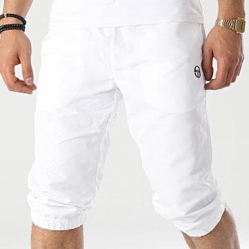Sergio Tacchini - Short Jogging Long Anson Capri 39075 Blanc