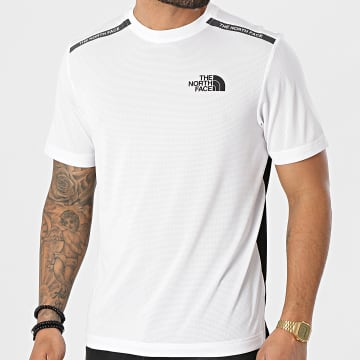 The North Face - Tee Shirt A5578FN4 Blanc Noir