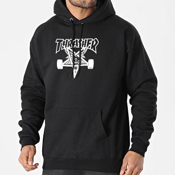 Thrasher - Sweat Capuche THRSW009 Noir