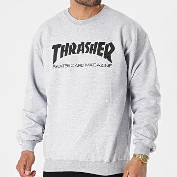 Thrasher - Sweat Crewneck THRSW016 Gris Chiné