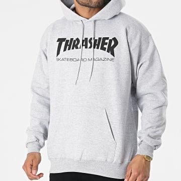 Thrasher - Sweat Capuche THRSW010 Gris Chiné