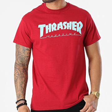Thrasher - Tee Shirt THRTS070 Bordeaux