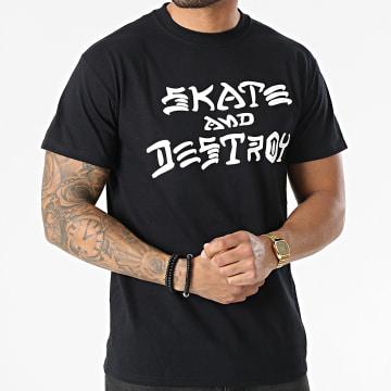 Thrasher - Tee Shirt THRTS013 Noir