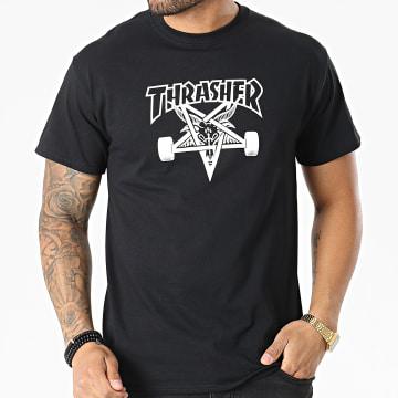 Thrasher - Tee Shirt  Skate Goat THRTS002 Noir