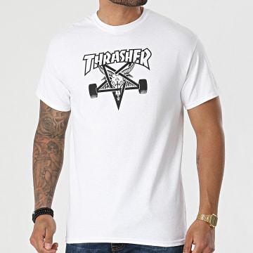 Thrasher - Tee Shirt Skate Goat THRTS009 Blanc
