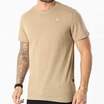 G-Star - Tee Shirt Compact Jersey D16411-336 Camel