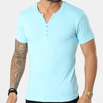 La Maison Blaggio - Tee Shirt Theo C Bleu Clair