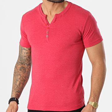 La Maison Blaggio - Tee Shirt Theo D Rouge Chiné