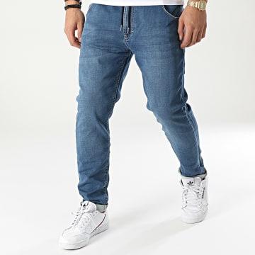 Reell Jeans - Jogger Pant Jean Jogger Jeans Bleu Denim
