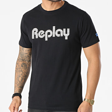 Replay - Tee Shirt M3481-P23174 Noir