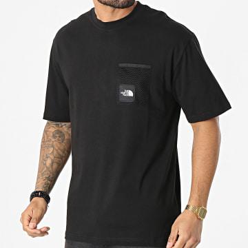 The North Face - Tee Shirt Poche Black Box Cut A557KJK3 Noir