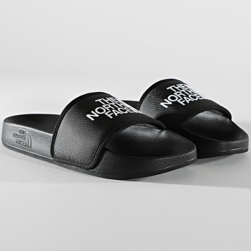 The North Face - Claquettes Femme Base Camp Slide III A4T2SKY4 Noir Blanc