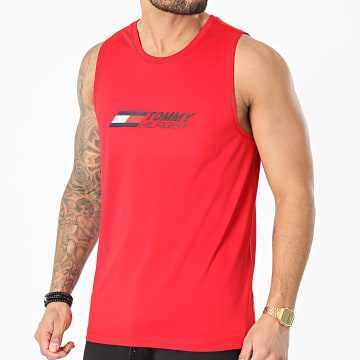 Tommy Sport - Débardeur Essentials Training 7229 Rouge